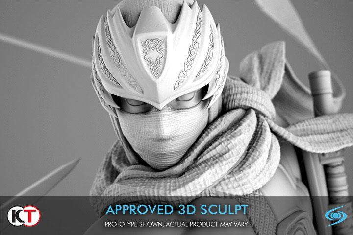 Ninja Gaiden 3: Ryu Hayabusa Resin statue, pose upclose