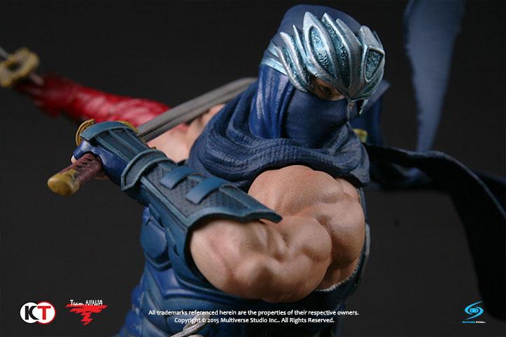 Ninja Gaiden Ryu Hayabusa Retro Blue Multiverse Studio Inc